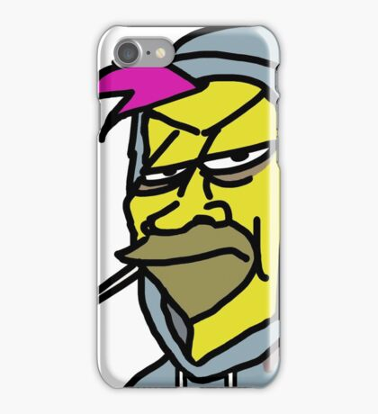 simpson badass II iPhone Case/Skin