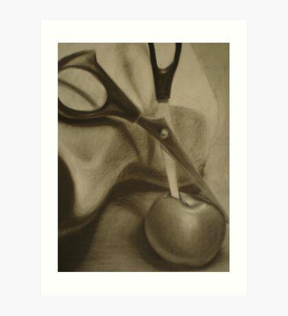 Apple Slice Art Print