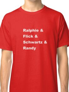 Christmas Story Kids Classic T-Shirt