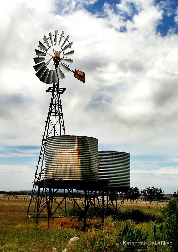 Windmill by Katherine Kakafikas