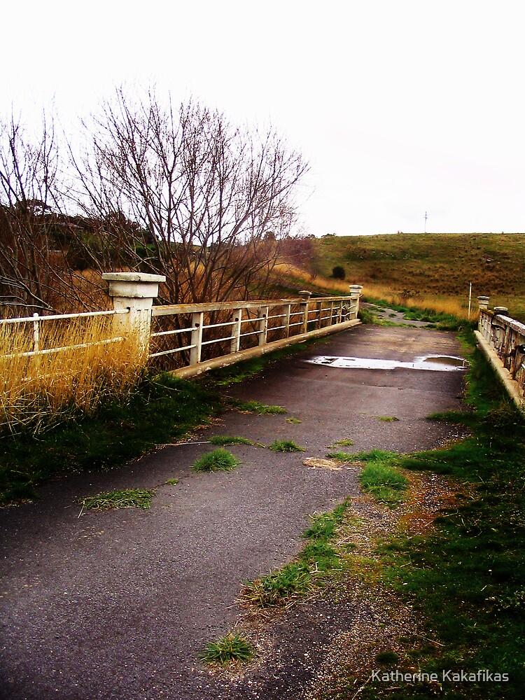 Old Abandoned Bridge by Katherine Kakafikas
