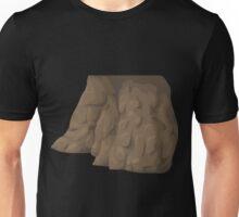 Glitch Groddle Land cliff cover 4 Unisex T-Shirt