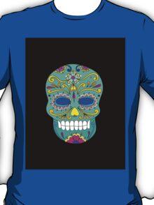 Sugar skull mexican folk art T-Shirt