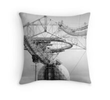 Arecibo Observatory Throw Pillow