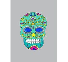 Sugar skull mexican folk art Photographic Print