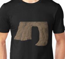 Glitch Groddle Land cliff cover door 1 Unisex T-Shirt