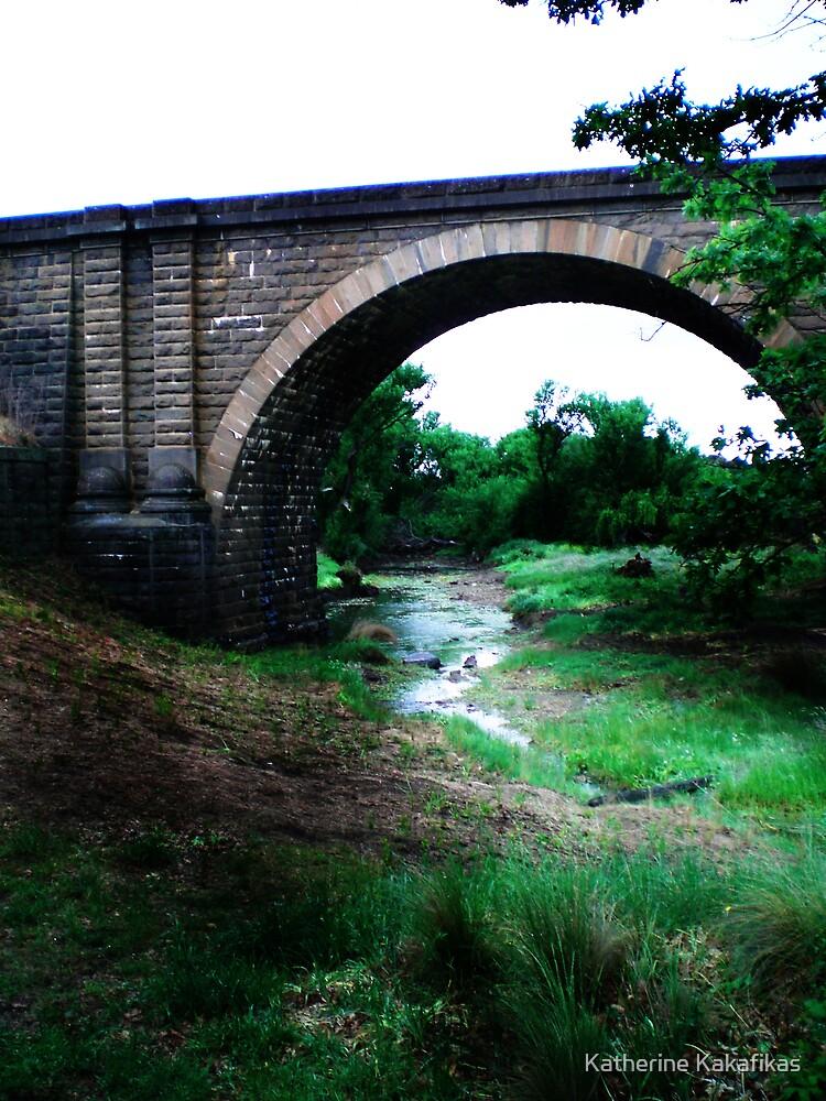 Train Bridge 2 by Katherine Kakafikas