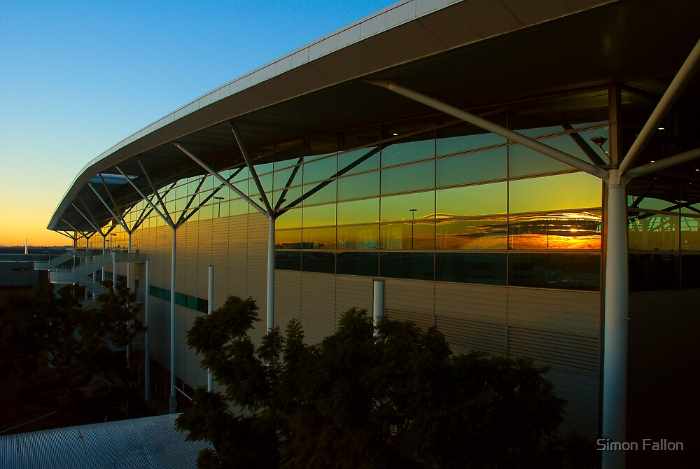 Dawn at Brisbane International by Simon Fallon