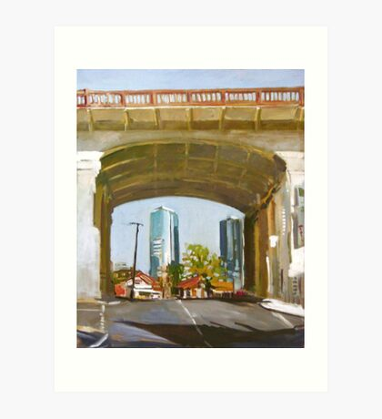 Beneath The Bridge Art Print