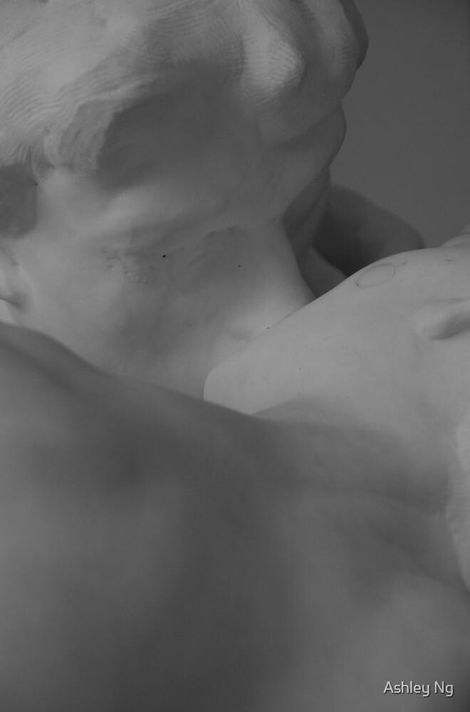 The Kiss by Ashley Ng
