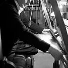 Silk weaving in Lyon by Ashley Ng