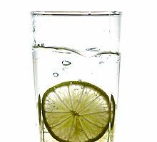 Lime Splash by Alexander Gitlits