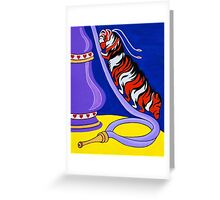 The Caterpillar and Hookah Greeting Card