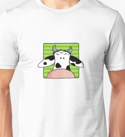 Close up cow Unisex T-Shirt