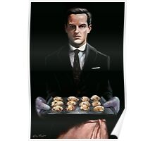 Moriarty with Cookies Poster