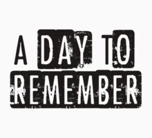 A Day To Remember Kids Clothes