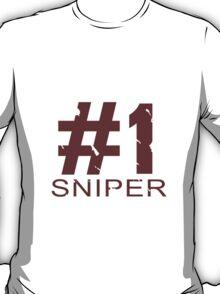 Sniper Mug Design T-Shirt