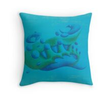 sperm wail tiers Throw Pillow
