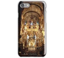 The altar of St James in Santiago de Compostela 01 iPhone Case/Skin