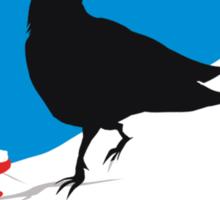 Crow Berries Sticker