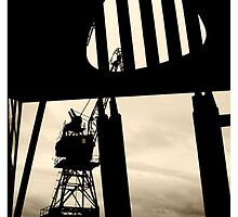 Harbour gantry by alistair mcbride