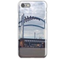 Entrance to He(ll)aven iPhone Case/Skin
