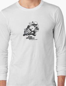 Knee Draggers - Life begins at 45° Long Sleeve T-Shirt