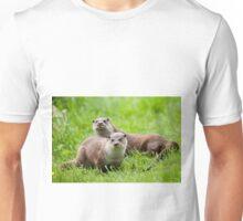 European otters Unisex T-Shirt