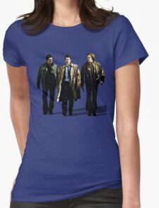 Dead Men Walking Womens Fitted T-Shirt