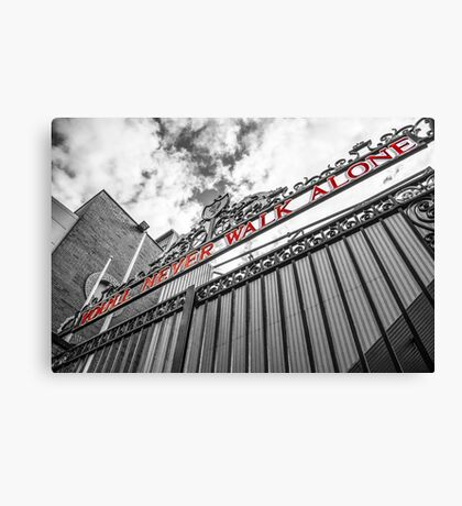 Anfield - The Shankly Gates Canvas Print