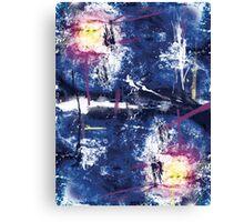 Grunge Nebula Canvas Print