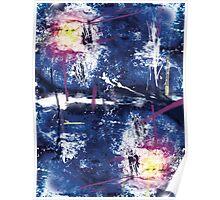 Grunge Nebula Poster