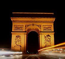 Arc de Triomphe by John Mackean