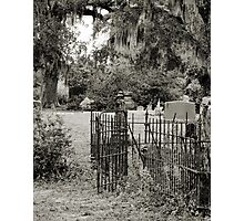 "'St. Andrew's Cemetary"" Photographic Print"