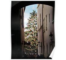 Christmas at Prague Poster