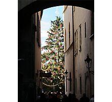 Christmas at Prague Photographic Print