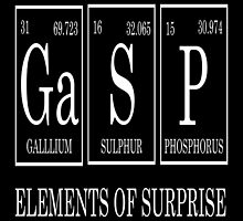 Gasp Periodic Table  by raineOn