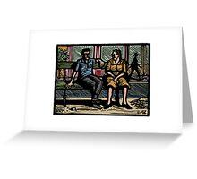 Chatting Greeting Card