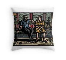 Chatting Throw Pillow