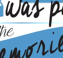 John Green - Paper Towns Quote Sticker