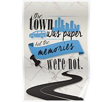 John Green - Paper Towns Quote Poster