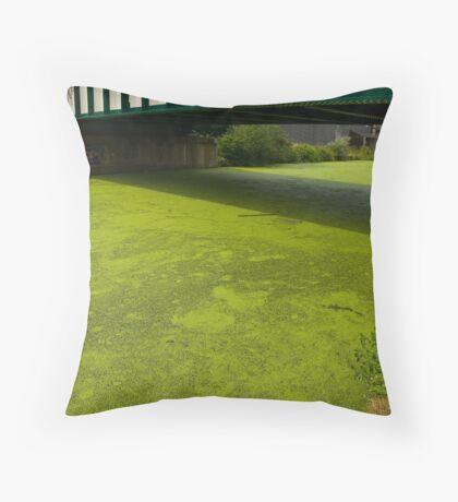 2012 London Olympic Pre-Demolition Green 3 Throw Pillow