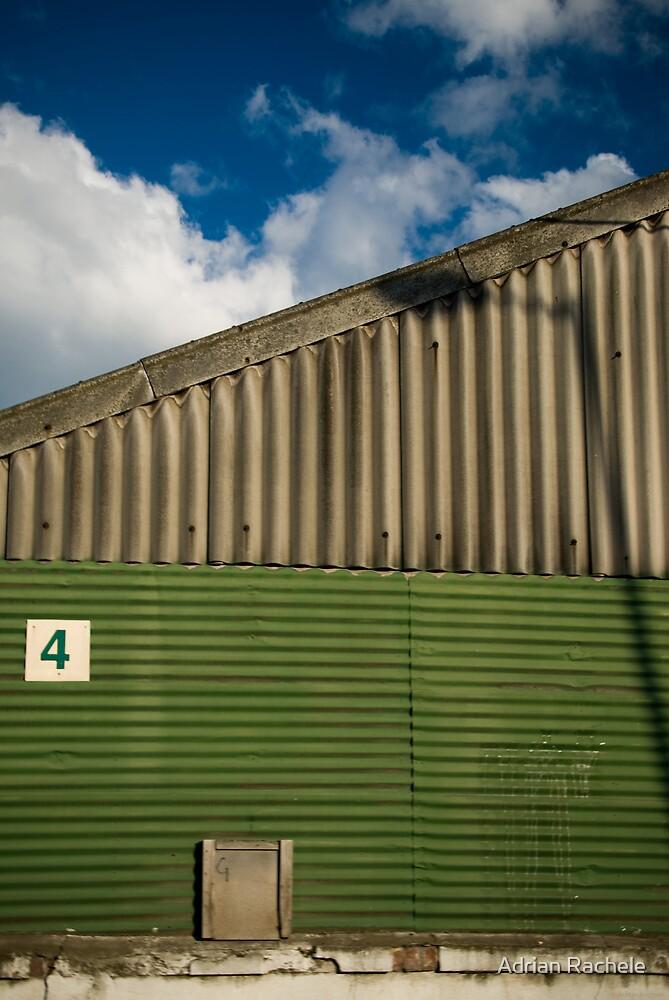 2012 London Olympic Pre-Demolition Green 4 by Adrian Rachele