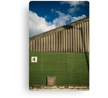 2012 London Olympic Pre-Demolition Green 4 Canvas Print