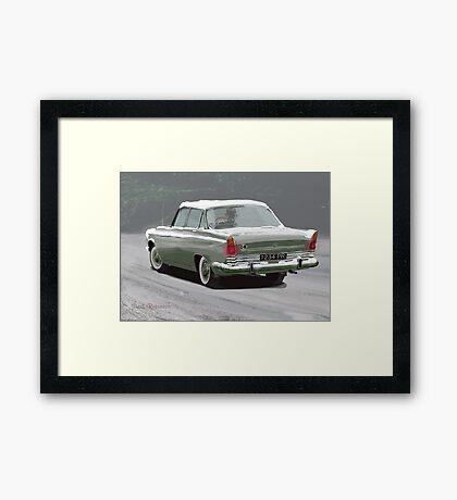 1960s Ford Zodiac V6 Framed Print
