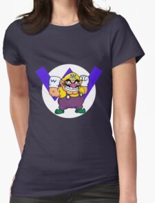 Wario! Womens Fitted T-Shirt