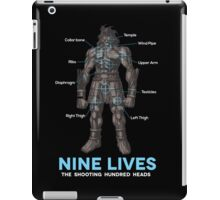 Nine Lives Blade Works - Black iPad Case/Skin