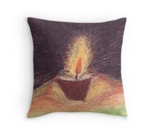 The Holy Light Prevails Throw Pillow