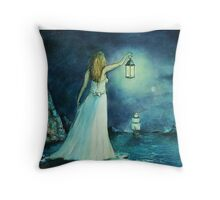 Beacon. Throw Pillow