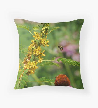 The Bumble Bee Throw Pillow